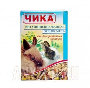 Чика Полноценный корм для декоративных кроликов