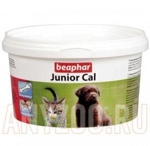 фото Beaphar  Беафар  Минеральная смесь для котят и щенков Junior Cal