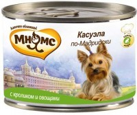 Купить Мнямс Консервированный корм для собак Касуэла по-Мадридски,  кролик с овощами