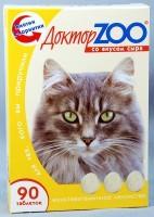 фото Доктор ЗОО Витамины для кошек со вкусом сыра