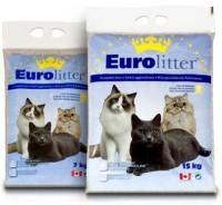 фото Eurolitter Контроль Запаха Наполнитель комкующийся (синий пакет)