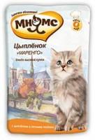 Мнямс пауч для котят Маренго