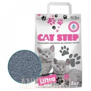 Cat Step Professional Ultra наполнитель комкующийся