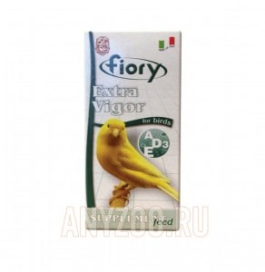 Купить Fiory Extra Vigor Фиори кормовая добавка для птиц с витаминами