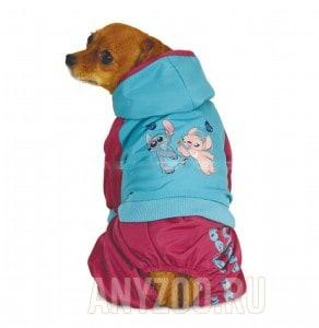 фото Disney Дисней комбинезон для собак демисезонный Stitch