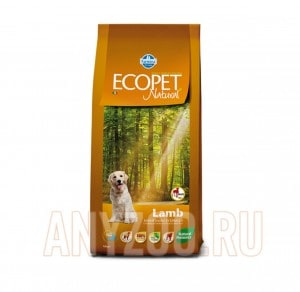 Ecopet Natural Lamb Adult