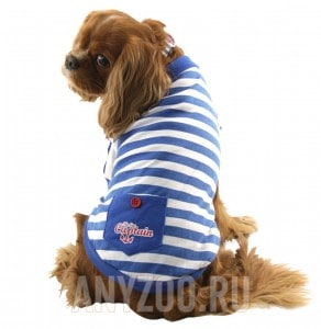 Триол футболка для собак Nautica