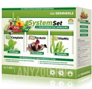 Купить Dennerle Perfect Plant System Set Комплект препаратов для профессионального ухода за  растениями