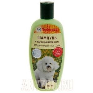 Пчелодар шампунь с маточным молочком для длинношерстных собак