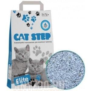 Cat Step Professional Elite наполнитель комкующийся с ароматом Алоэ-вера