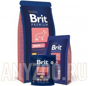 фото Brit Premium Junior Large Breed - Брит корм для щенков и юниоров крупных пород