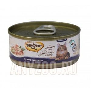 фото Мнямс консервы для кошек Тунец с дорадо в нежном желе