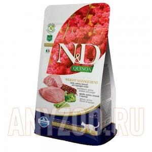Farmina N&D GF Quinoa Weight Management