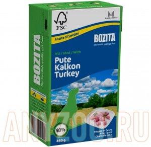 Купить Bozita Tetra Pak - Бозита консервы для собак кусочки в желе с индейкой
