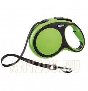 фото Flexi New Comfort рулетка для собак, размер L, 8м*50кг, ремень