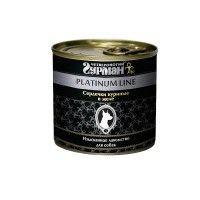 Четвероногий Гурман Платинум консервы для собак сердечки куриные в желе