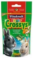 Vitakraft - Витакрафт Подушечки для кроликов с Фруктами