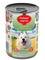 Родные корма Консервы для собак Скоблянка мясная по-городецки