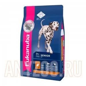 Eukanuba Dog Mature Rich in Lamb/Rice