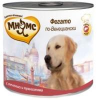 Мнямс Консервированный корм для собак Фегато по-Венециански,  телячья печень с пряностями