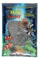 фото Эко-Грунт Крошка цветная мраморная, черная, блестящая 5-10 мм