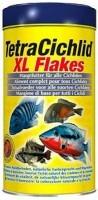 фото Tetra Cichilid XL Flakes Основной корм для всех видов цихлид (крупные хлопья)
