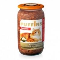 фото Puffins Пафинс консервы для кошек Говядина