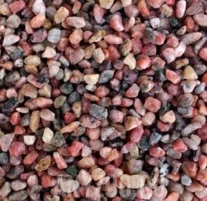 """Купить UDeco River Pink Натуральный грунт для аквариумов """"Розовый гравий"""",6-8 мм"""