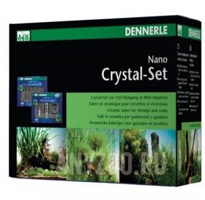 Установка для подачи СО2 для нано-аквариумов Dennerle Crystal-Set 125