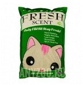 фото Fresh Scent Свежесть Мята комкующийся наполнитель для кошек