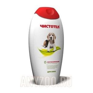 Чистотел шампунь для собак восстанавливающий