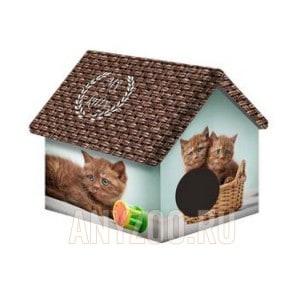 фото PerseiLine Персилайн Дизайн домик для животных Шоколадные котята