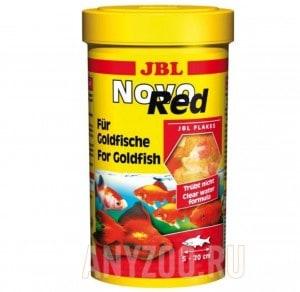 фото JBL NovoRed Основной корм для золотых рыб в форме хлопьев