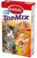фото Sanal TopMix - Санал витамины для кошек ТопМикс(Говядина+курица+лосось)