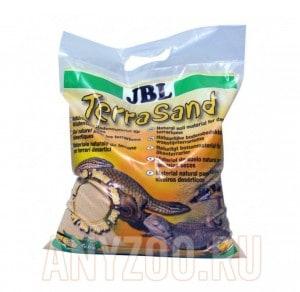фото JBL TerraSand natur-rot Донный грунт для сухих террариумов, цвет натуральный красный