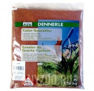 Купить Dennerle Color Quartz Gravel  Цветной кварцевый гравий, фракция 1-2 мм, 5кг
