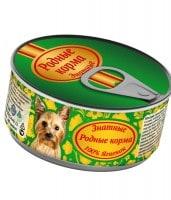 фото Родные корма Знатные Консервы для собак 100% Ягненок