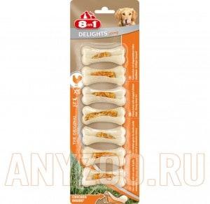 Купить 8 in 1 Delights Strong Косточка сверхпрочная для собак