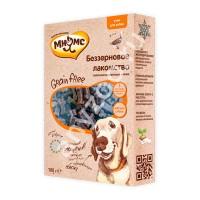 Купить Мнямс Grain Free Беззерновое гипоаллергенное полувлажное лакомство с уткой для собак