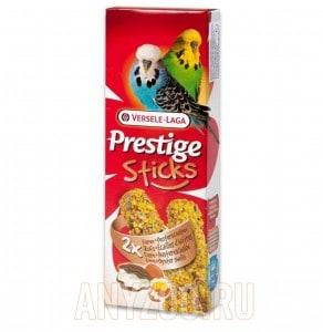 фото Versele-Laga Prestige палочка для волнистых попугаев с яйцом и ракушечником