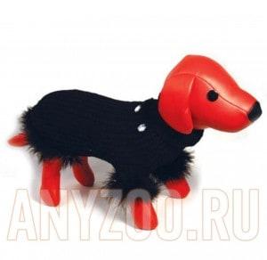 фото Dezzie Свитер для собак вязанный черный