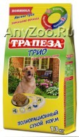 Трапеза Трио Сухой корм для собак Индейка/Кролик/Телятина