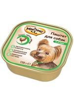Мнямс консервированный корм для взрослых собак Паштет с курицей
