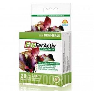Купить Dennerle E15 FerActiv Железосодержащее удобрение  для всех аквариумных растений в таблетках