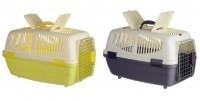 фото Kredo Переноска пластиковая для кошек и маленьких собак с замком