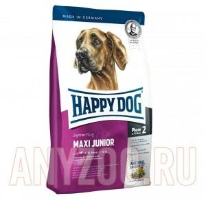 фото Happy Dog Supreme Maxi Junior GR25 - Хэппи Дог Сухой корм для щенков крупных пород с 6 до 18 месяцев