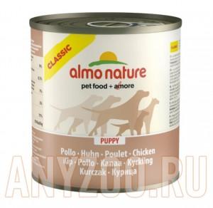фото Almo Nature Classic консервы для щенков с курицей
