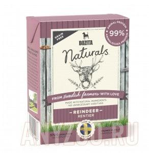 Купить BozitaNaturals Reindeer консервы Порция сухого питания