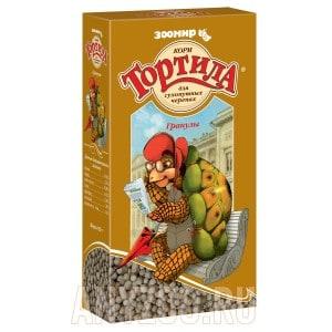Зоомир Тортила корм в гранулах для сухопутных черепах