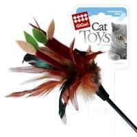 фото GiGwi Дразнилка для кошек на стеке с листиками